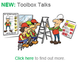 tool box safety talk template .